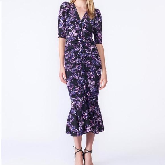 Veronica Beard floral dress. M 5b72d83d81bbc8d4955ad50e 9d8712366